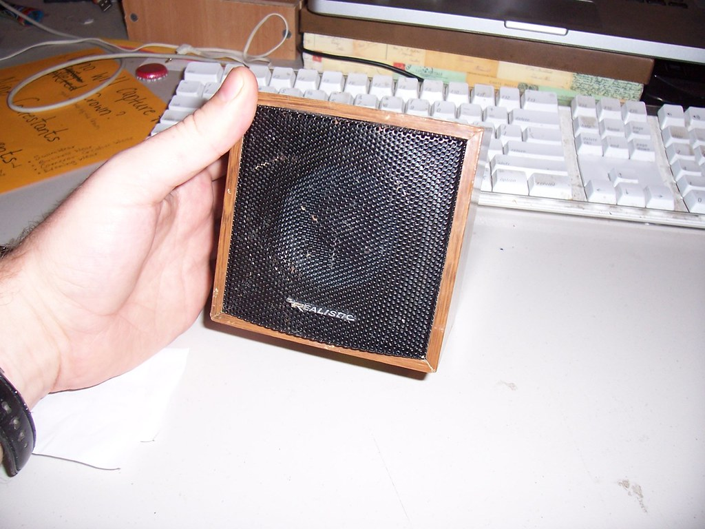 99˘ surround sound satellite speaker.
