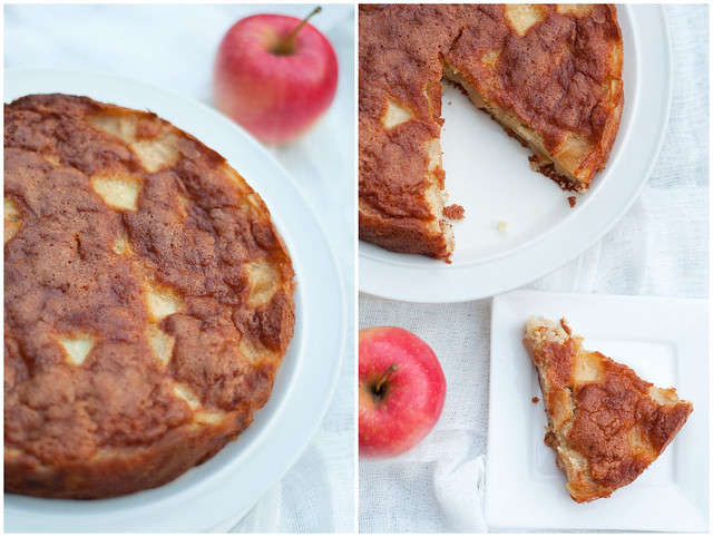 Apple Cake Collage