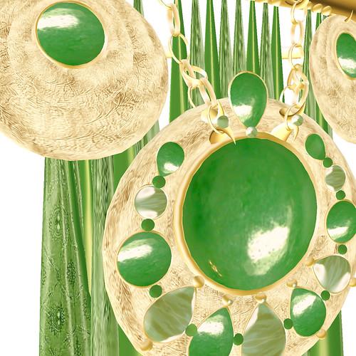 Susa detail - jade