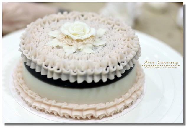 天使媽媽蛋糕皂課程 059