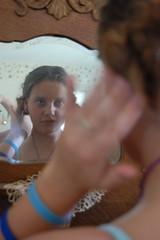 Prepping 2 (BME Images) Tags: girl mirror ready prep prepare reflextion primp