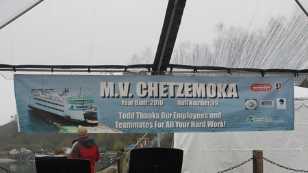 M.V. Chetzemoka at Coupeville (Keystone)