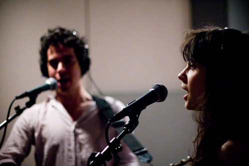 Zooey Deshanel with M. Ward