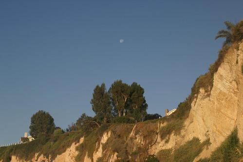 moon sets on barbra's bluff