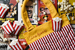 Bolsa Cine Freak (Rocked My Soul) Tags: cinema brasil bag pin broche handmade stripes pregadeira craft felt cine fabric popcorn movies feltro bolsa handbag pipoca botton tecido listras