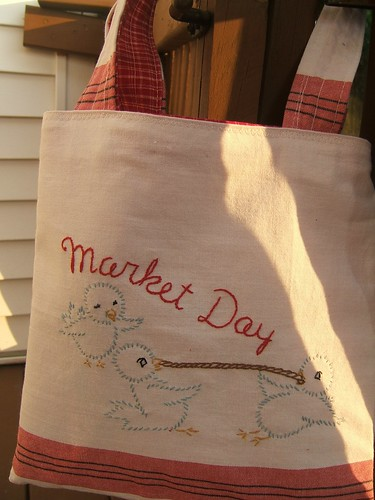 dishtowel tote bag