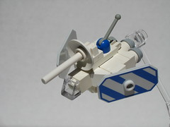 Knight's Kingdom II (3/4) (Dunechaser) Tags: castle lego space ships vehicles shuttle shuttles microspace knightskingdom kk2 microscale microspacetopia