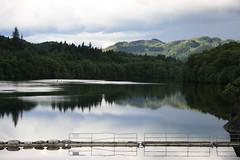 The Pitlochry Dam Reservoir