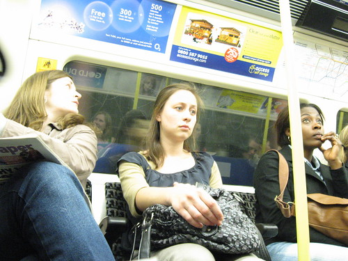 Northern Line daze by slip slowly - a rare three chicks in a row