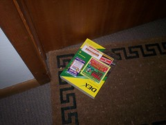 Left at our door. (paulswansen) Tags: phonebook dex yellowpages wheatridgecolorado