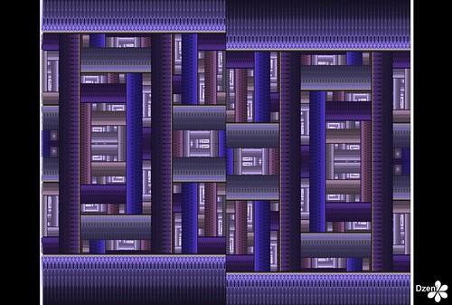 Lilac Bricks