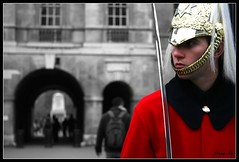 the guard (milleluce.com) Tags: people london guard breathtaking thisisart bestofflickr giang blueribbonwinner greatphotographers 10faves flickrsbest mywinners aplusphoto amazingshots diamondclassphotographer flickrdiamond amazingamateur colourartaward superamazingshots proudshopper thebestpool giangle astoundingimages giangleorg