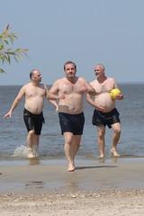 Race 'ya! (canadianlookin) Tags: hot beach swimming fun sunny manitoba patriciabeach