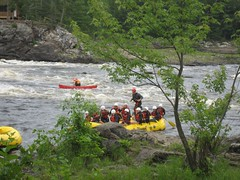 We made it :-) (S and T) Tags: rafting ottawariver whitewaterrafting riverrun