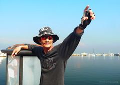 hail cesar (jobarracuda) Tags: sunglasses lumix manilabay picc yachtclub panasoniclumix ccpcomplex dmcfz50 jobarracuda kuyacesar