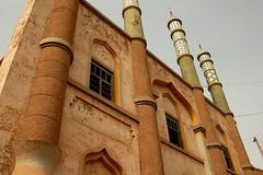 DSC_1094_tuyuguo_mosque (kdriese) Tags: china church muslim mosque uighur xinjiang silkroad turpan taklamakan turfan nikond200 may2007 kendriese tuyuguo