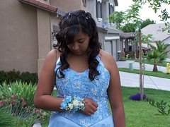 Senior Ball (barbilynn12) Tags: bluedress bluegown
