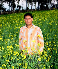 Proud Farmer (Manny Pabla) Tags: travel flowers winter boy vacation india field rural canon landscape rebel asia village farm indian desi crop mustard farmer punjab yellowflowers mustardfield punjabi singh sarson sona northindia greenrevolution hoshiarpur mustardflowers satvir badwal rurkikhas garhshankar satvirbadwal