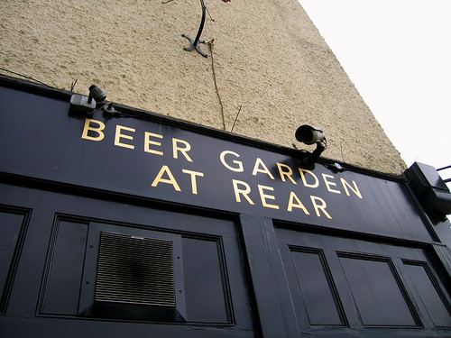 Beer Garden By The Rear