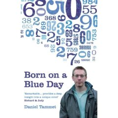 Born on a Blue Day - book cover