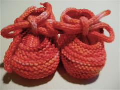 Saartje's Booties with ties