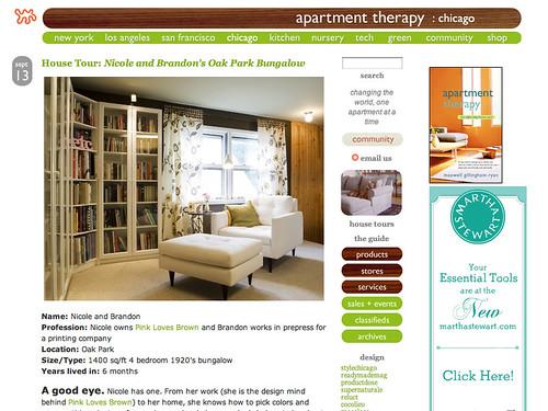 Apartment Therapy House Tour