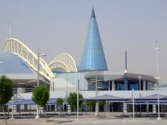 Doha Khalifa Sportkomplex (tigeRobert) Tags: doha quatar sportcenter