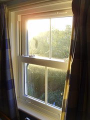 sunlight on the window (piersbarber) Tags: morning sunlight window early bedroom earlymorning curtains