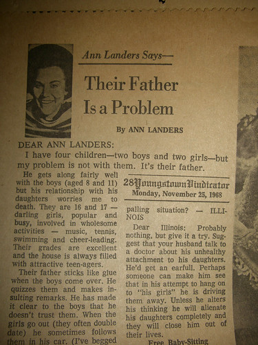 Old Ann Landers article