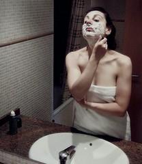 It's Women's Day, folks (Moondancer (sounds and visions)) Tags: barcelona bathroom femininity womanhood diamondclassphotographer carrerdesantpau47elraval