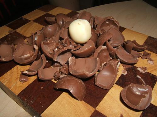 Shelled truffles