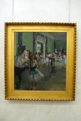 Paris - Muse d'Orsay: Edgar Degas' La Classe de danse (wallyg) Tags: paris france museum painting europe muse impressionism degas orsay impressionist museedorsay dorsay musedorsay edgardegas orsaymuseum frenchimpressionism frenchimpressionist laclassededanse