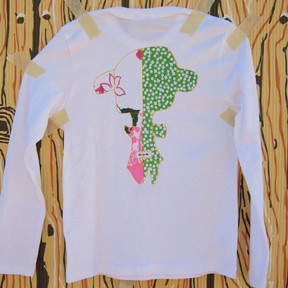 nu-nu doll t-shirt/back