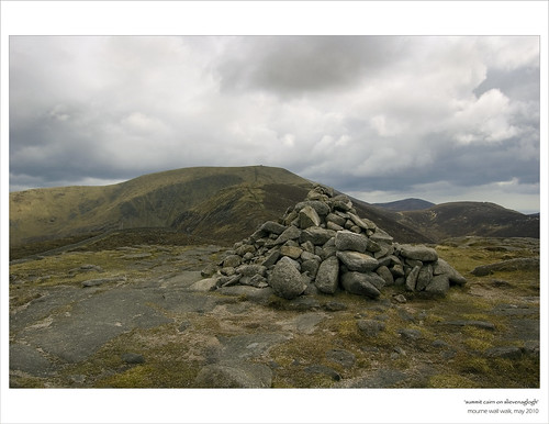 Summit cairn on Slievenaglogh
