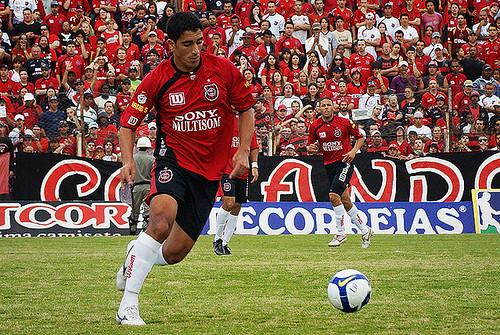 Moscatelli marcou 11 gols em 2008. Crédito: Divulgação