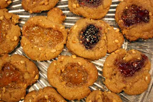 pb&j cookies, revisited.