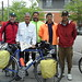 <b>(L to R) Alex W., Howard S., Doug G. &amp; David G.</b><br />&nbsp;Date: 06/18/2010 Hometown: Houston, TX, Beaverdam, VA, Winston-Salem, NC and Salem, OR TRIP From: Pacific City, OR To: Yorktown, VA