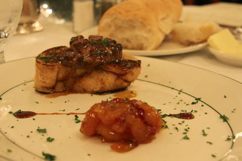 Galatorie's, New Orleans - foie gras