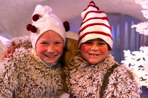Ole Ulfsby (7,5) og Kathinka Kreutzer (9)