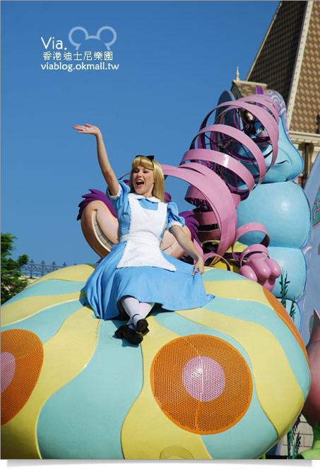 【香港迪士尼】跟著via玩香港(3)~迪士尼卡通人物歡樂巡遊24