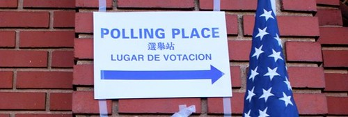 horizontal cropped polling place