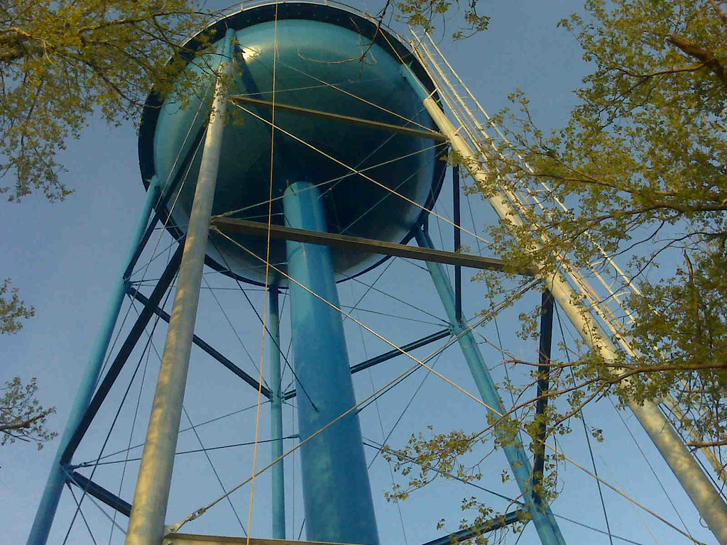 Eureka SD Watertower Recoating
