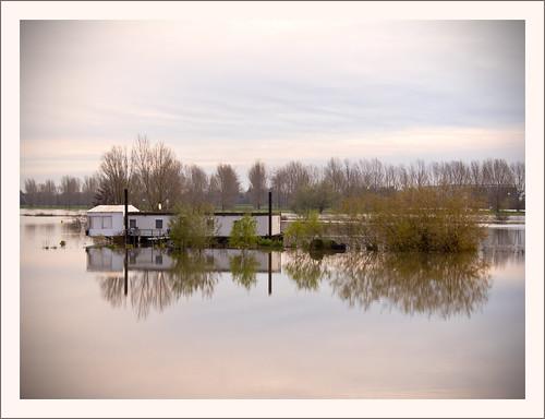 morning sunset holland water netherlands rain river earlymorning nederland nl fluss highwater regen olanda roermond ochtend limburg niederlande rivier zonsopkomst hoogwater middenlimburg remunj regenval