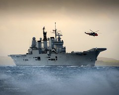 HMS Ark Royal Visits HMNB Clyde for the Final Time (Defence Images) Tags: uk ship argyll aircraft military ngc free equipment helicopter british aircraftcarrier defense carrier defence cvs seaking royalnavy hmsarkroyal faslane invincibleclass