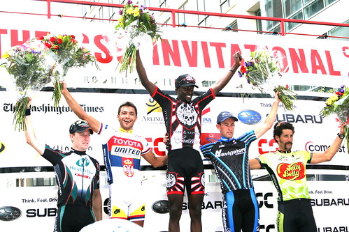 The 2007 CSC Invitational Podium