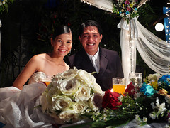the bride and the groom (jobarracuda) Tags: wedding lumix brideandgroom fz50 kasal panasoniclumix sergo dmcfz50 jobarracuda bennethandmicah