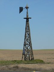 Weathervane in Eastern Washington