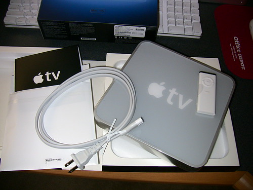 Unboxing the AppleTV