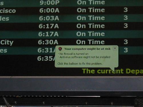 Bezpečnost letecké dopravy.