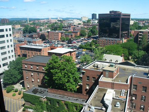 Hartford from the 10th floor